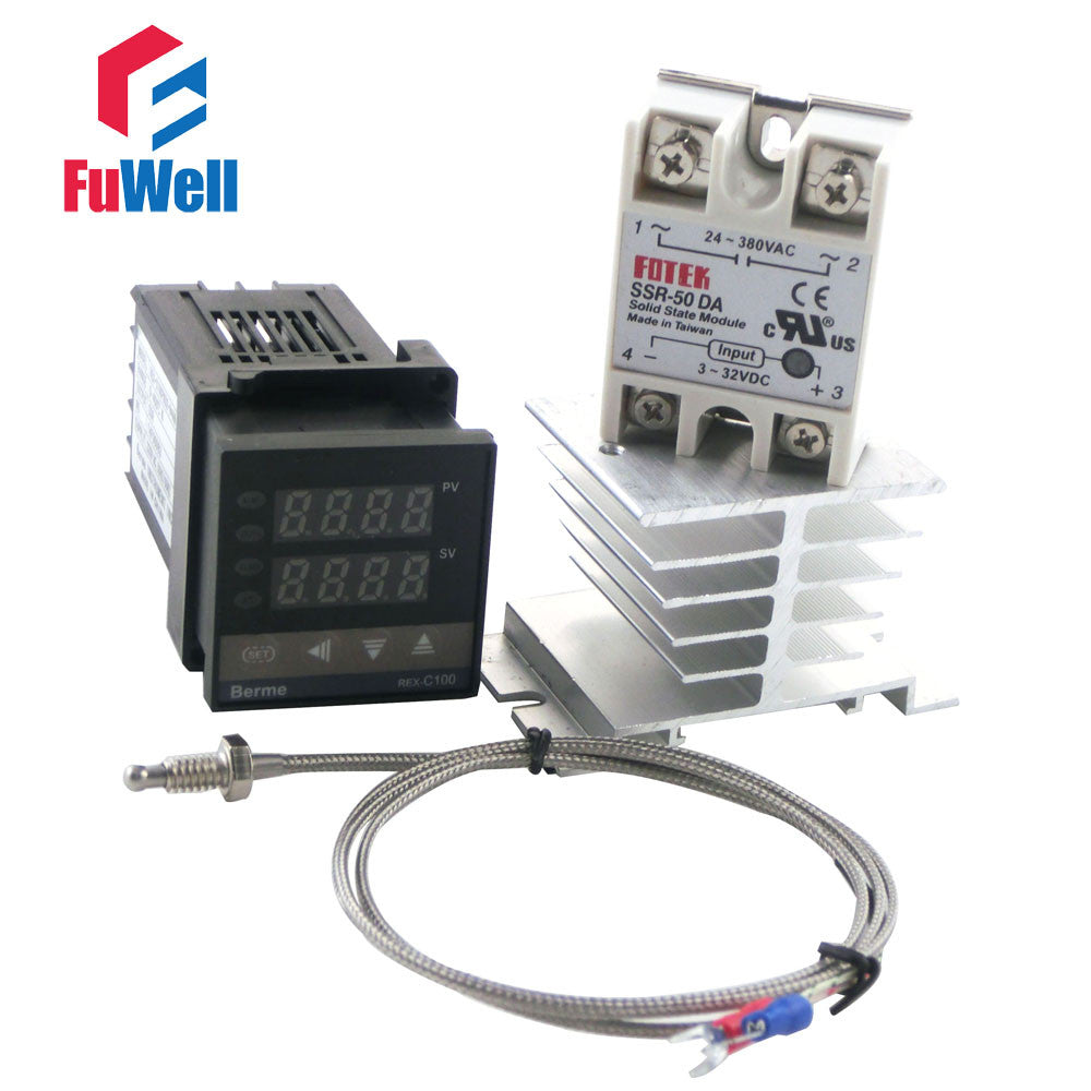 Short Version 86x48x48mm Rex C100fk02 Van Pid Temperature Wiring To The Controller