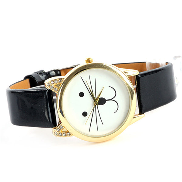Sloggi Leather Quartz Acrylic Quartz Wristwatches Women Zl234