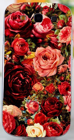 soft tpu hardplastic Flower Phone Cases For Samsung Galaxy S III S3 GT-i9300 4.8 inch i9300 I939D DUOS i9300i SIII Neo+ Cases
