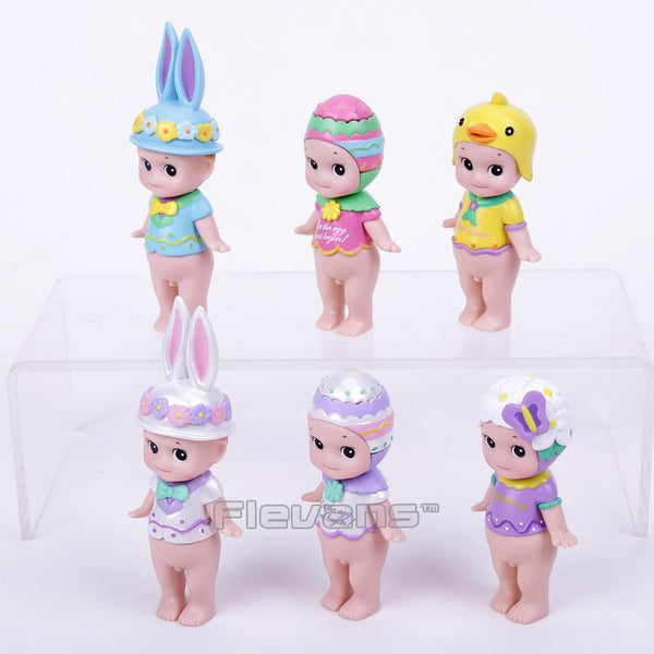 Sonny Angel Mini Figures Easter Series 6pcs set Sonny Angel Collectible Model Toys Christmas & Brithday Gift for Children Boxed