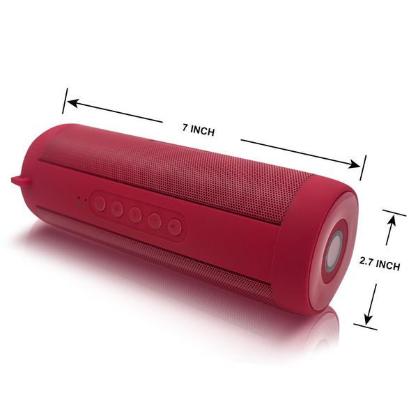 T2 Waterproof Speaker Portable Wireless Bluetooth Speakers Stereo Loudspeakers Support FM Receive TF Mobile Column for phone pc