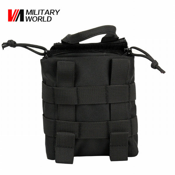Outdoor Tactical Military Molle EDC Utility Bag Medical First Aid Pouch Belt Bag