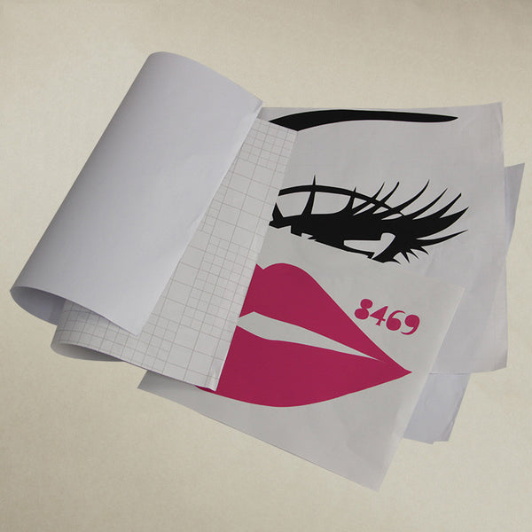 TIE LER Sexy Girl Lip Eyes Wall Stickers Living Bedroom Decoration DIY Vinyl Decals Art Poster Home Decor