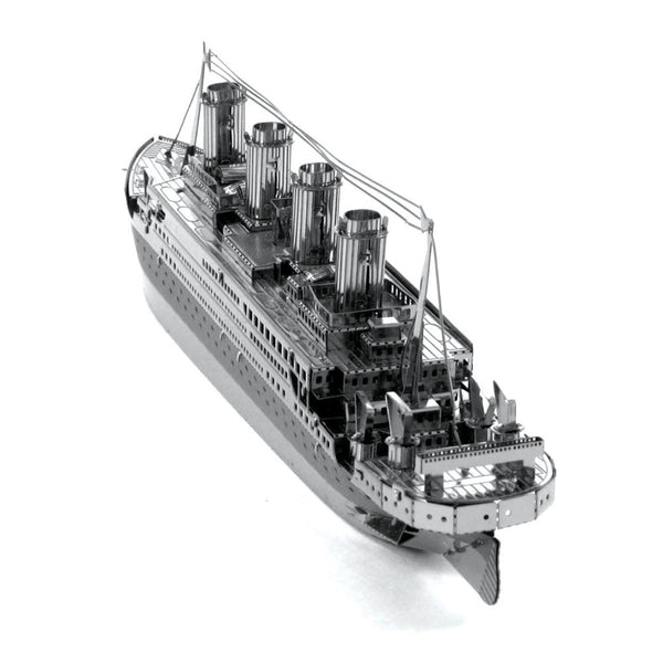 Titanic Vessel Jigsaw Puzzle For Boy Ship Model Creative Kids Toys Children Gift Stainless Steel Laser Cutting 3D Metal Puzzle