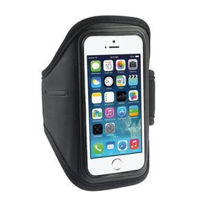 Top Quality Black Adjustable Sport Gym Running Arm Band Armbands Case For iPhone SE 5S 5C 5G 4G 4S For ipod Touch 4G JA29