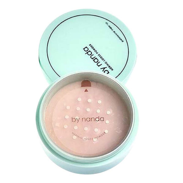 Translucent Pressed Powder with Puff Smooth Face Makeup Waterproof Foundation Loose Skin Powder Maquiagem