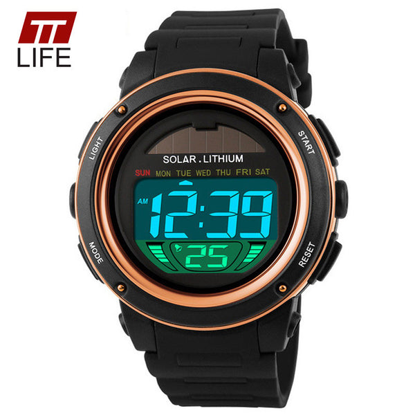 Ttlife Resin Quartz Acrylic Quartz Wristwatches Men 1096