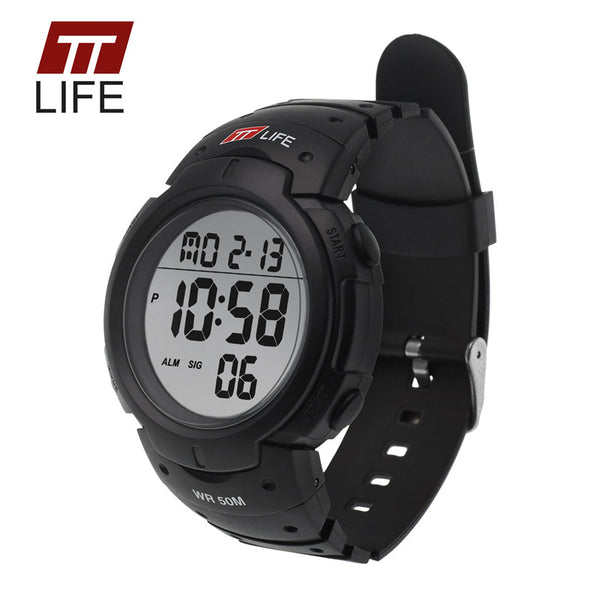 Ttlife Silicone Quartz Acrylic Quartz Wristwatches Men Ts02
