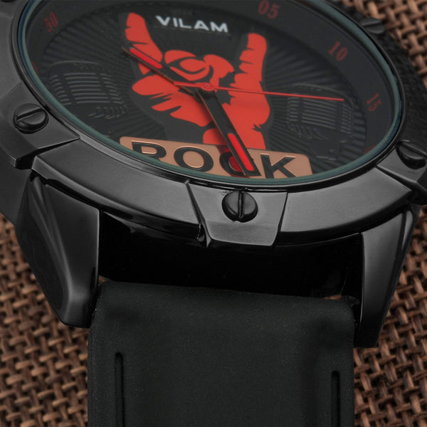 Vilam Rubber Quartz Alloy Quartz Wristwatches Men Tmr2060g