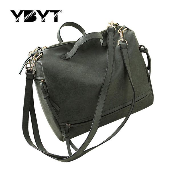 Ybyt Solid Pu Handbags Women 0058