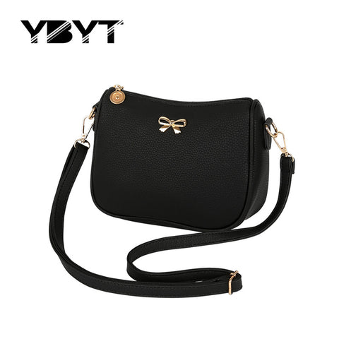 Ybyt Bow Solid Pu Handbags Women 0157