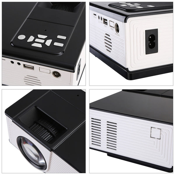 VS314 LED Mini Projector Full HD 1500 Lumens 800 x 480 Pixels 0.9 - 6M Home TV Media Player Portable Home Theater Proyector