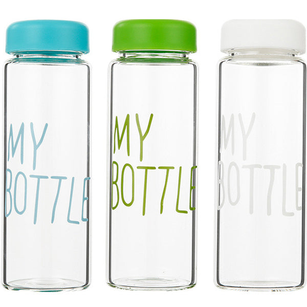 Water Bottles Portable Plastic Bottle Creative Juice Tea Coffee Space Cup Drinkware Hot Sale D30