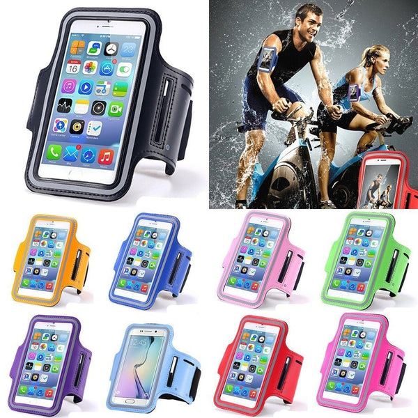 Waterproof 5.5 inch Universal Running Sports Exercise GYM Phone Holder Case Cover for Cellphone Mobilephone Smartphone
