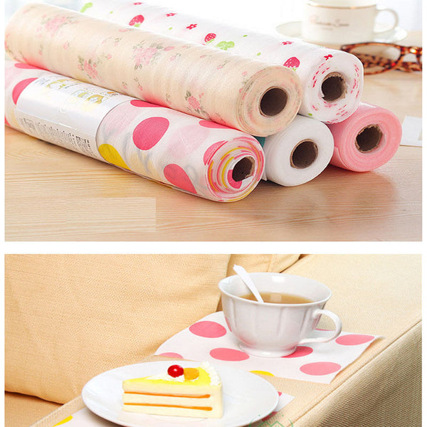 Waterproof Non-Slip Placemat Table Mat Antiskid Cup Heat-insulated Kitchen Drawer Dinning Bowl Pad Mat 300*30cm