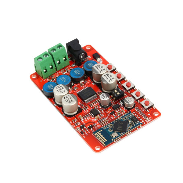 Wireless Bluetooth 4.0 Audio Receiver Digital TDA7492P 25W+25W Amplifier Board Free Shipping