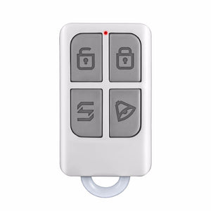 Wireless High-performance Portable Remote Control 4 Buttons For GSM PSTN Home Alarm System