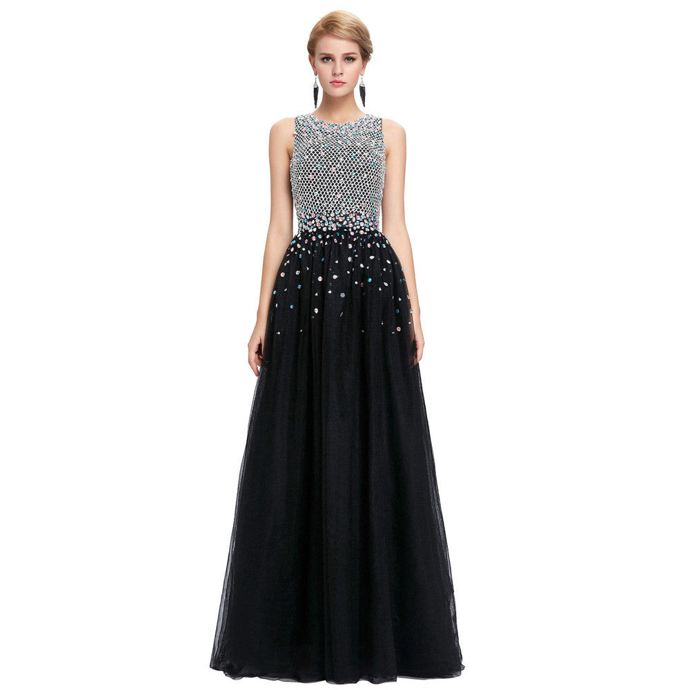 abe4844805 Women Ball Gowns Long Evening Dresses with Crystals 2017 Engagement Dress  Sexy Formal Gown Floor Length ...