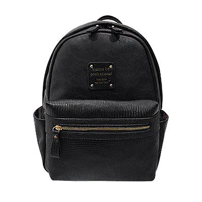 Ybyt Striped Pu Backpacks Women 0123