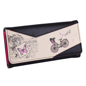 Hcandice Landscape Pu Wallet Women Mint0617