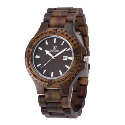 Bewell Resin Quartz Wooden Quartz Wristwatches Men 1005