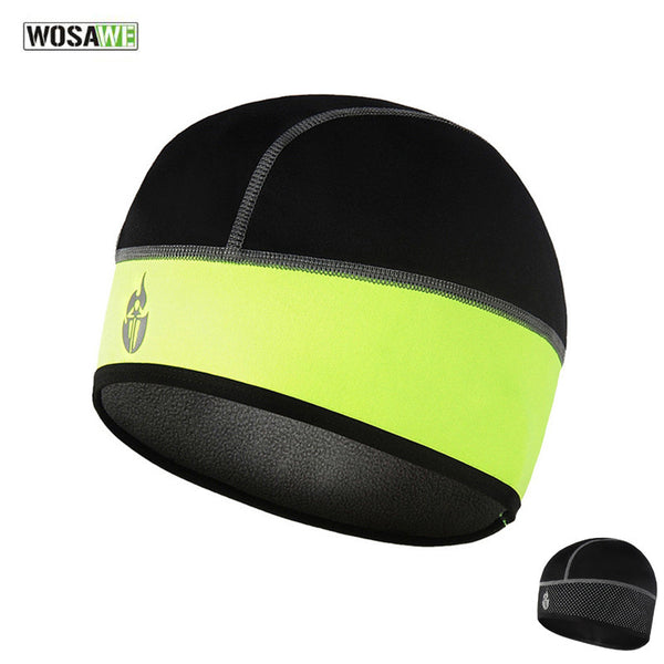 WOSAWE Cycling Cap Men Women Fleece Warm Head Wear Outdoor Sport Mountain Road Bicycle Riding Running Fishing Hat 3 Colors H2050