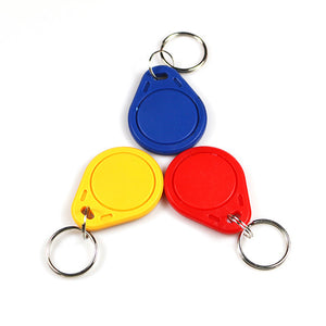 Writable 125KHz T5577 RFID Keyfobs Keychain Key Token TAG For card coppier RFID Duplicator
