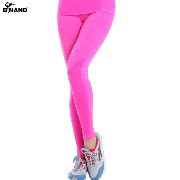 Yoga Pants Running Trousers Workout Clothes Sport Slim Fitness Sports Women Gym Lulu High Waist Clothing Leggings For Female