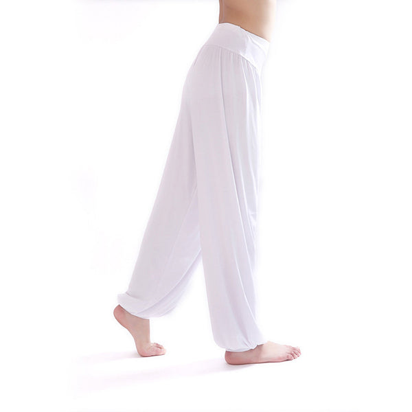 Yoga Pants Women Bloomers Dance Yoga TaiChi Full Length Pants Smooth Antistatic Pants Shop