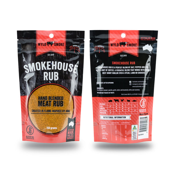 Wyld Smoke BBQ rub collection - free shipping