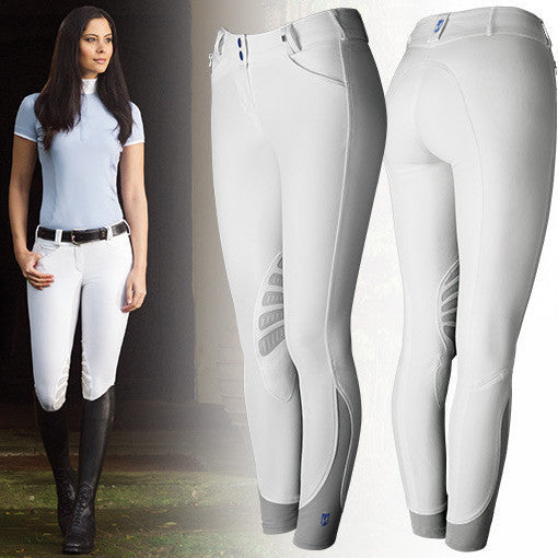 Tredstep Ladies Symphony Azzura PRO Knee Patch Breeches