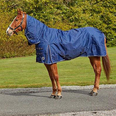 Turfmasters Check Mediumweight Full Neck Turnout Rug