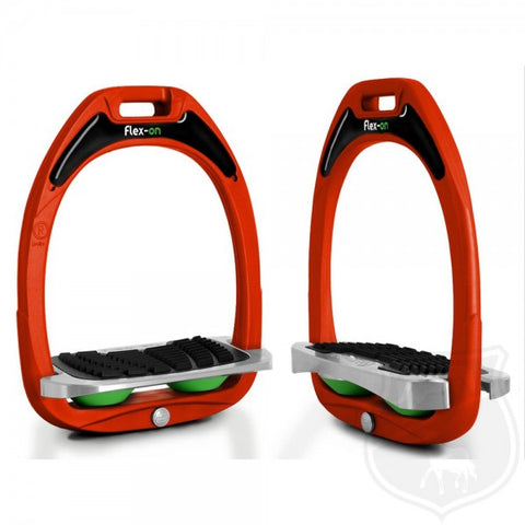 Flex-on Composite Orange/ Green Shock Absorbers