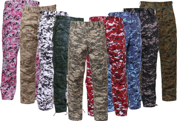 Rothco Digital Camo BDU Pants - Group Image