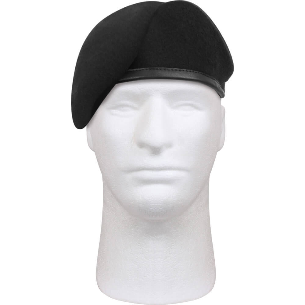 Rothco Military Style Uniform Beret - Black