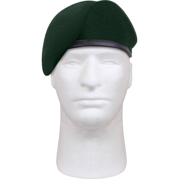 Rothco Military Style Uniform Beret, Pre-Shaven Wool