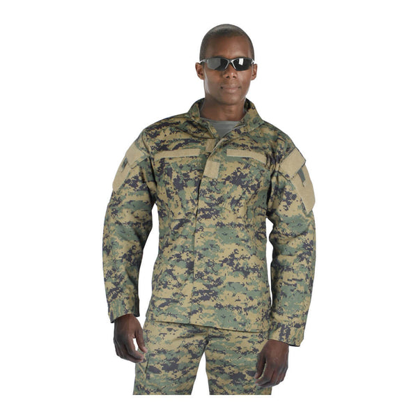 Rothco Army Combat Uniform Shirt - Woodland Digital Camo
