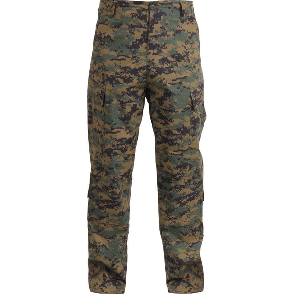 Rothco Army Combat Uniform Pants, ACU's - Woodland Digital Camo