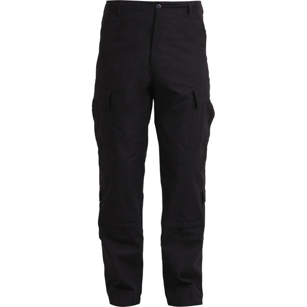Rothco Army Combat Uniform Pants, ACU's - Black