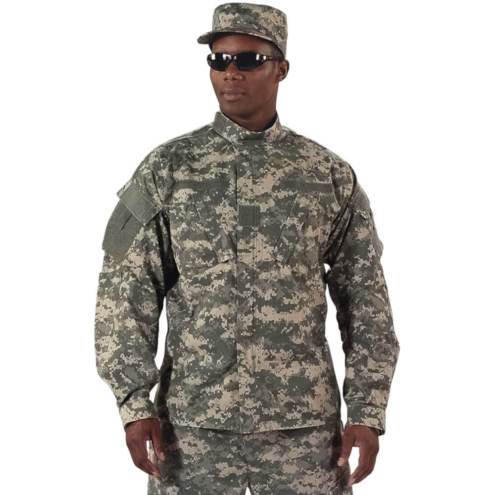 Rothco Army Combat Uniform Shirt - ACU Digital Camo