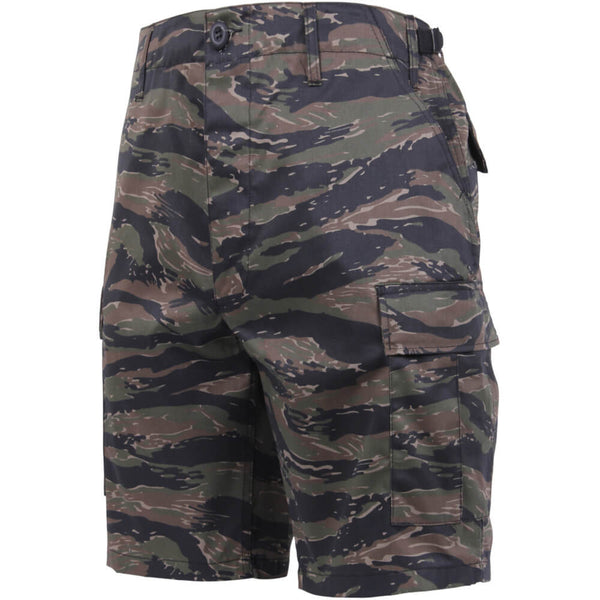 Rothco Camouflage BDU Shorts, Tiger Stripe Camo