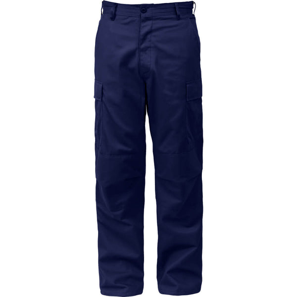 Rothco Solid Color BDU Pants - Navy Blue