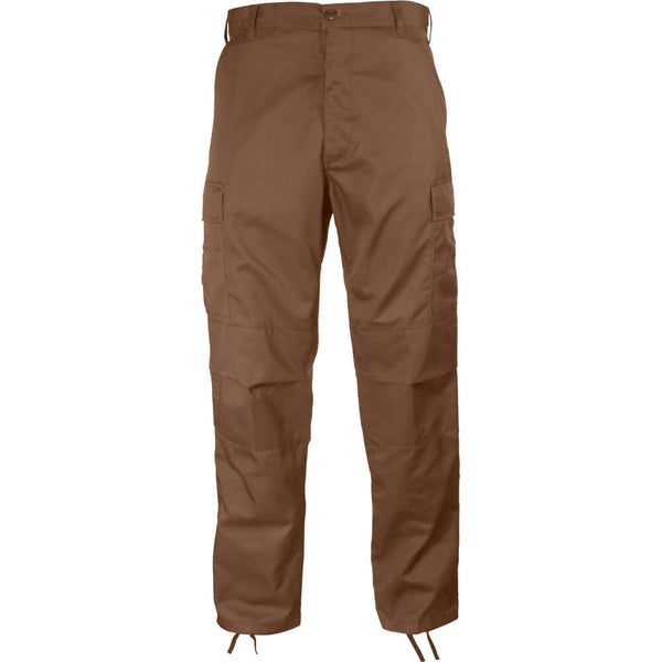 Rothco Solid Color BDU Pants - Brown