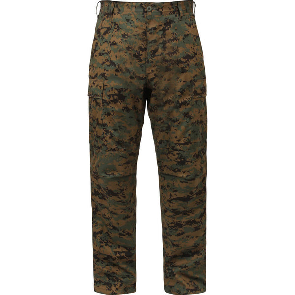 Rothco Digital Camo BDU Pants - Woodland