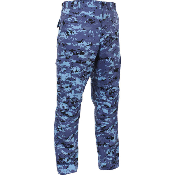 Rothco Digital Camo BDU Pants - Sky Blue