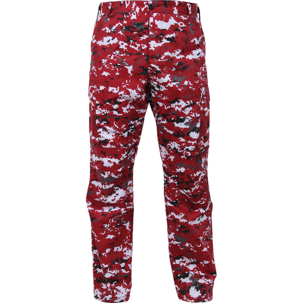 Rothco Digital Camo BDU Pants - Red