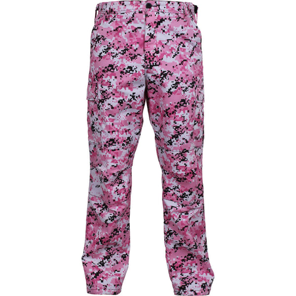 Rothco Digital Camo BDU Pants - Pink