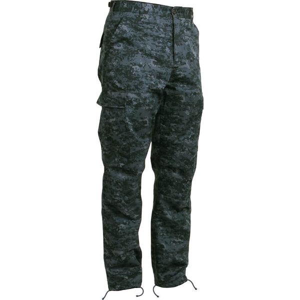 Rothco Digital Camo BDU Pants - Midnight Blue