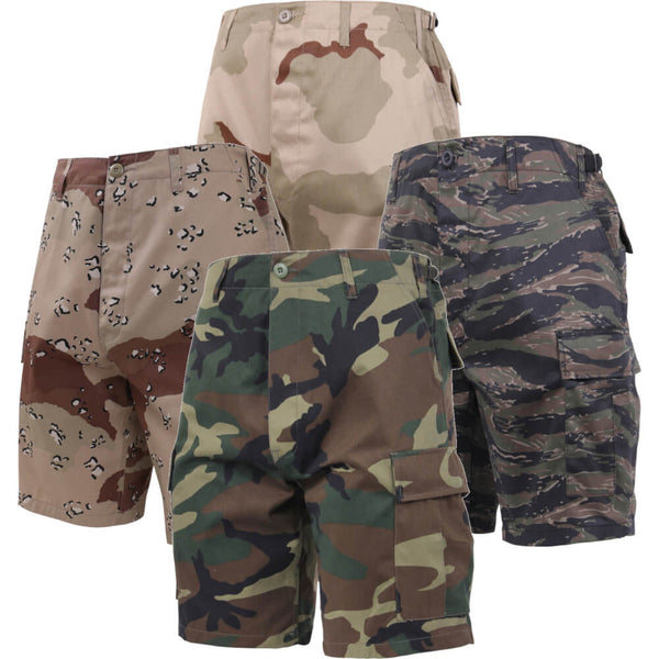 Rothco Camouflage BDU Shorts, Group