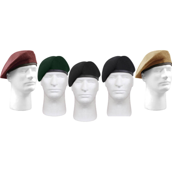 Rothco Military Style Uniform Beret - Group Image